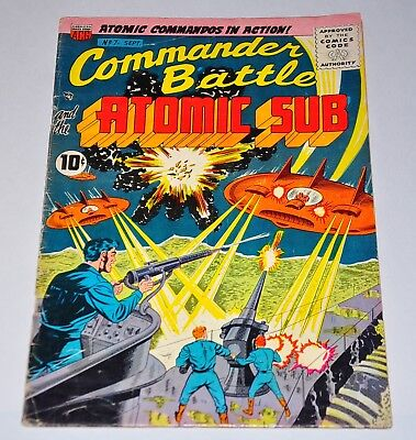 Commander Battle and the Atomic Sub 7 VG+