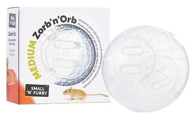 Zorb 'n' Orb Exercise Jogging Travel Play Ball Hamsters Mice Rats Gerbils Wheel