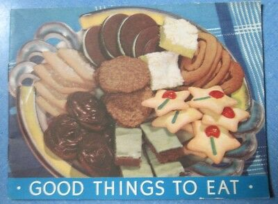 Vintage 1938 Good Things To Eat With Arm & Hammer Baking Soda Recipe Booklet