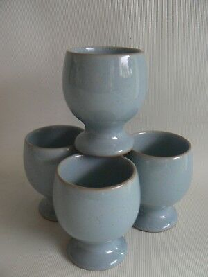 Denby Colonial Blue Egg Cups X 4