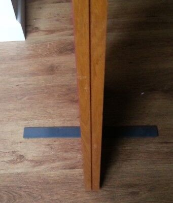 Panel partition stabilising Feet L457 W37 H300