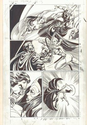 Convergence Suicide Squad #2 p.13 Cyborg Superman Action '15 art by Tom Mandrake