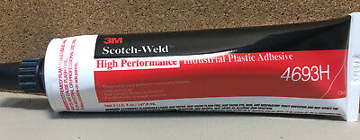3M Scotch-Weld 4693H Clear High Performance Plastic Adhesive 5 oz Tube