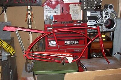 vintage 26'' 1958  AMF Roadmaster Bicycle mens frame chain guard & carrier
