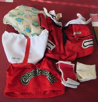 LOT of Cabbage Patch Clothes - Original - Coleco