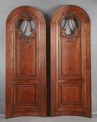Outstanding Pair of French Louis XV Style Architectural Doors, c. 186... Lot 490