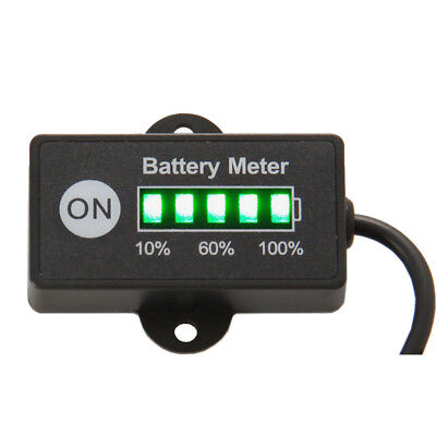 mini battery meter 12/24V for motorcycle golf carts test voltage of battery