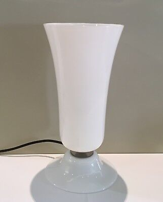 Venini - Lamp Years 30 - Colour Milk glass - h cm 32 Murano glass Retailer
