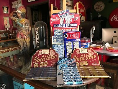"Vintage Barbershop Razor Retail Display "" Watch Video"""