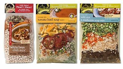 Frontier Soups 100% Natural Homemade In Minutes GF Soup Mix 3 Flavor Variety