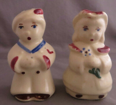 Vintage Shawnee Boy Blue Bo Peep Salt Pepper Shakers