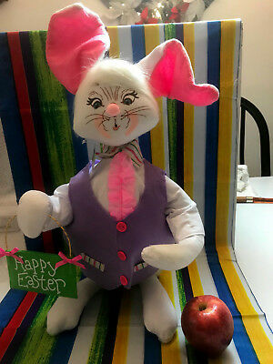 """Annalee Spring Happy Easter 18"""" Large Doll  New 2018 202018 """"O"""" Mouth"""