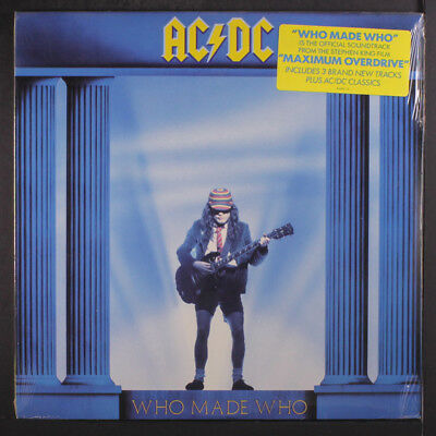 AC/DC: Who Made Who LP Sealed (w/ hype sticker) Rock & Pop