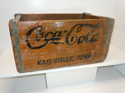 Vintage Coca-Cola Wooden Crate Carrier   Nashville Tenn.