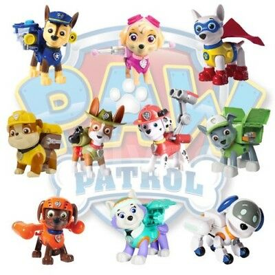 Paw Patrol Action Pack Pup Puppy & Badge Figure Kids Boys Collectable Toy Age 3+