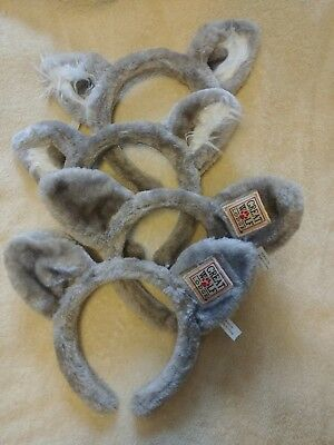 Wolf or Fox Ears Plush Headband Costume Halloween Great Wolf Lodge