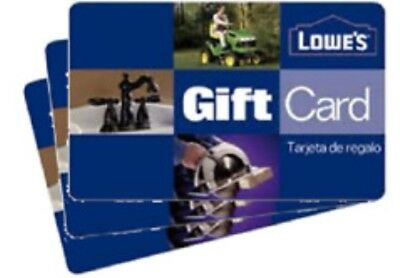$100 Lowes Card