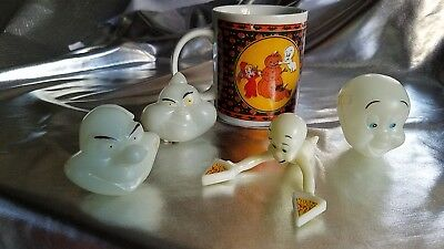 Casper The Friendly Ghost Vintage Lot. Wendy The Good Witch, The Ghostly Trio.