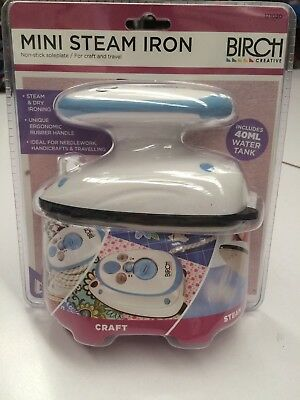 Birch Mini Steam Iron : Ideal For Travel, Crafts, Quilting