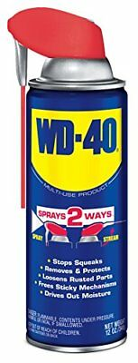 12oz WD40 Petroleum Based Multi Purpose Lubricant Spray For Equipment Protection