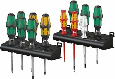 Wera Tool Screwdriver Chisel Insulated Laser Tip All Around Set 12 Pc Big Pack‏