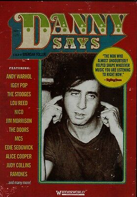 Danny Says. He was Present at The Birth of Punk. New DVD