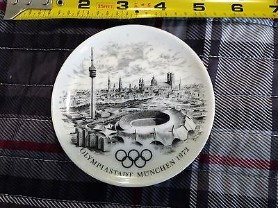 Vintage 1972 MUNICH OLYMPIC Games Commemorative PLATE