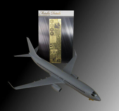"Detailing set for Zvezda kit ""Boeing 737""   1/144 Metallic Details  # 14413"