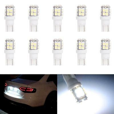 10x T10 20-SMD LED White Super Bright Car Lights Bulb - 194 168 2825 W5W UP