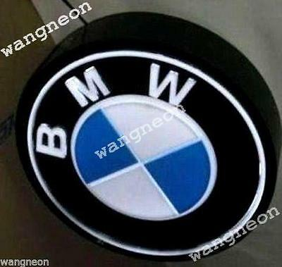BMW European AUTO CAR MOTORCYCLE BIKE DEALLER 3D LED LIGHT BOX SIGN Free Ship