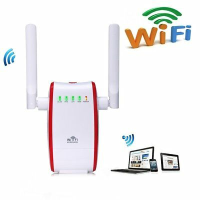 300Mbps WiFi Router Long Range Extender 2.4GHz WiFi Repeater Signal Amplifier