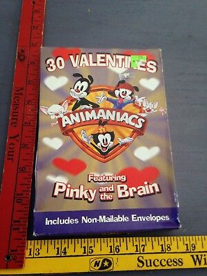 Animaniacs Valentines Pinky & the Brain SIP 1997