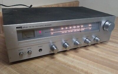 Vintage Montgomery Ward AIRLINE FM-AM STEREO RECEIVER GEN 6901A AS IS SHIPS FREE