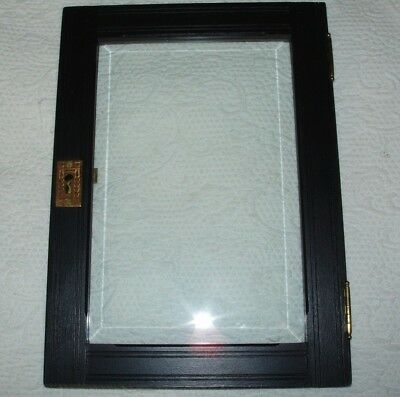 Replacement Door for Victorian Wall Cabinet - Beveled Glass - Eastlake Style