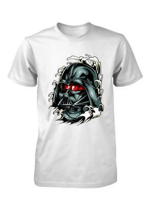 Bnwt Darth Lost In Japan Tattoo Vader Mock Up Funny  Kids T Shirt 3-15 Years