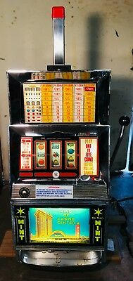 Bally slot machine - Model 809 - Excellent working condition - circa 1968 - 1970