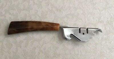 Vintage Manual Pull Through Knife Sharpener/Can Opener