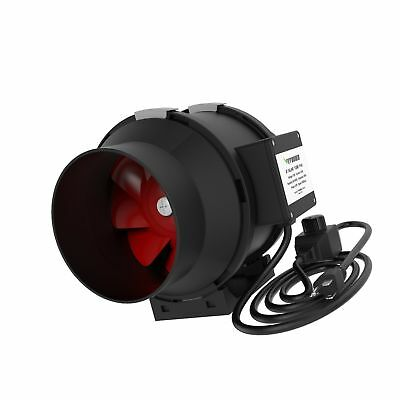 VIVOSUN 6 Inch 390 CFM Inline Duct Fan with Variable Speed Controller for Ven...