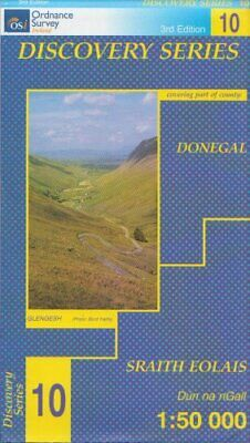 Discovery Series 10 Donegal (Irish ... by Ordnance Survey Irel Sheet map, folded