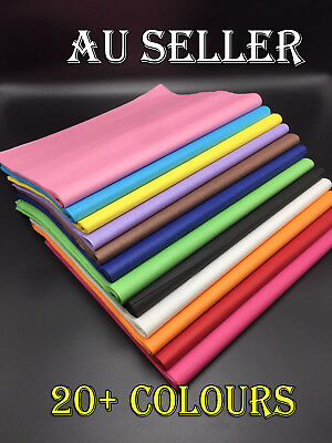 Bulk 50-500 Ream Tissue Paper Gift Wrap Wrapping Craft Paper 68x50cm 20+COLOURS