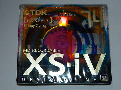 "1 x TDK XS-IV - Limited - MD-XS74AAEA - ( eksesiv)  ""Happy Cyclop""  - in OVP !!!"