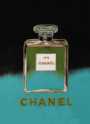 b33f16e534d VINTAGE CHANEL NO.5 Andy Warhol Advertisement Art Poster A3 Re Print ...