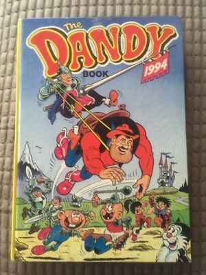 THE DANDY BOOK / ANNUAL 1994 - Excellent Condition ***unclipped***