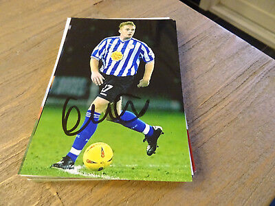 HERACLES 17/18 & SHEFFIELD WEDNESDAY AUTOGRAPHCARD UNSIGNED ! JOEY PELUPESSY