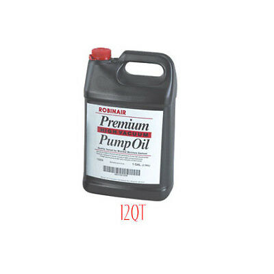 ROBINAIR 13203CS - Premium High Air Vacuum Pump Oil, Quart, Case