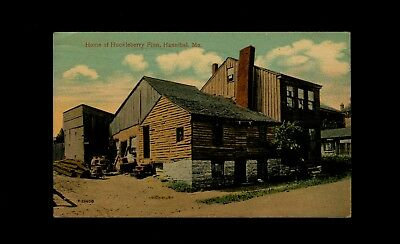 1913 Postcard Home of Huckleberry Finn, Hannibal, Missouri, used to Richmond, VA