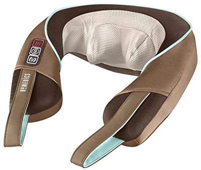 HoMedics NMS-375 Shiatsu Neck and Shoulder Massager with Heat, New