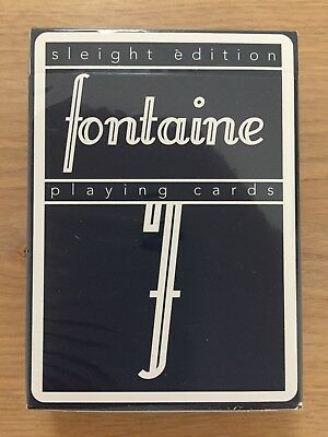 Fontaine Sleight EditionPlaying Cards NEW unopened