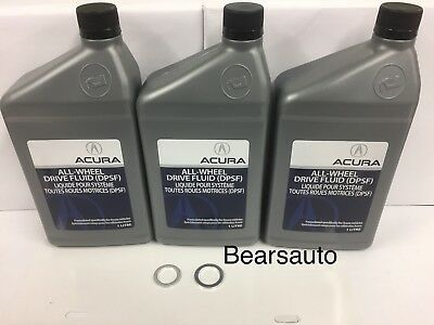 Acura DPSF All-Wheel-Drive Fluid & Washers OEM New 08200-9007AC Free Shipping