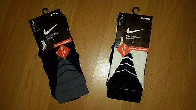 Nike Elite Vapor Young Boys' Comfort Accelerated Football Socks, MSRP  $18.00